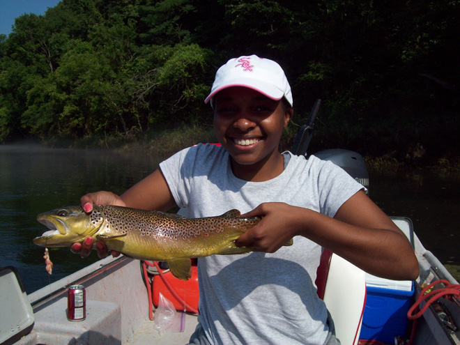 Trout Fishing Gear in and near White River Arkansas