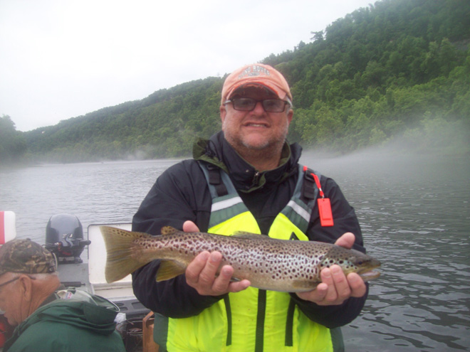 Trout Fly Fishing in and near White River Arkansas