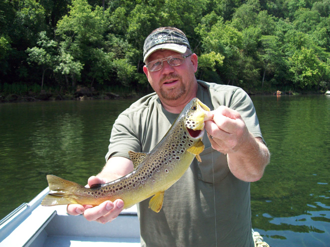Trout Spin Fishing in and near White River Arkansas